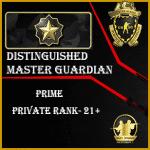 Distinguished master guardian