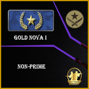 Gold nova I CSGO account