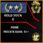GN2 Prime Account   Buy CSGO GN2 Prime Account   Gold Nova 2 Prime