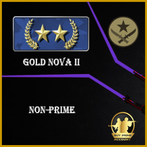 Gold nova 2 csgo account