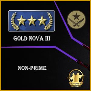 gold nova III nonprime