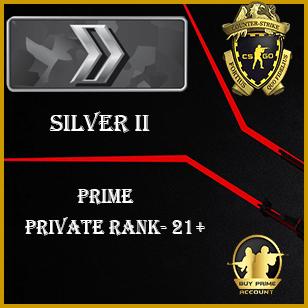 Prime Silver 2 account